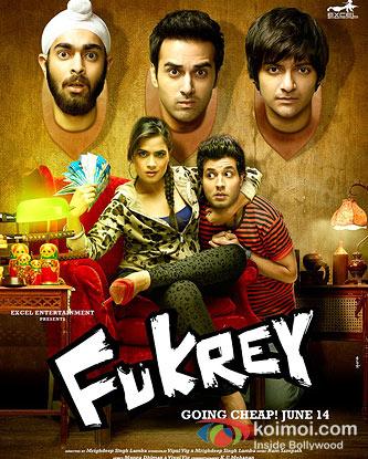 Fukrey Moive Poster