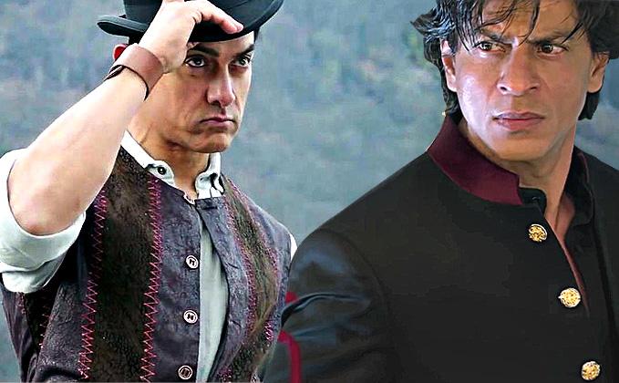Shah Rukh Khan Vs Aamir Khan: Highest Day Collection