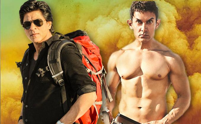 SRK Vs Aamir Lifetime Collection Battle: Not Fan; Will Raees Beat PK?