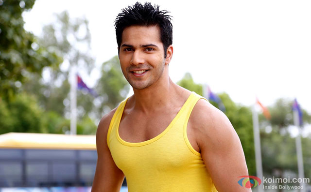 Varun Dhawan in a still from movie 'Main Tera Hero'
