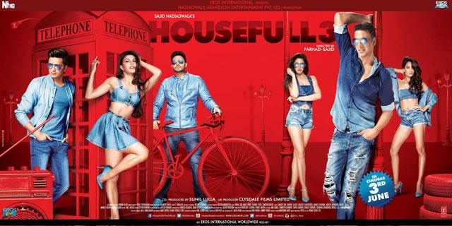 Housefull 3 Movie Poster