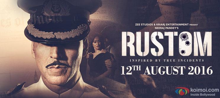 Akshay Kumar starrer Rustom poster
