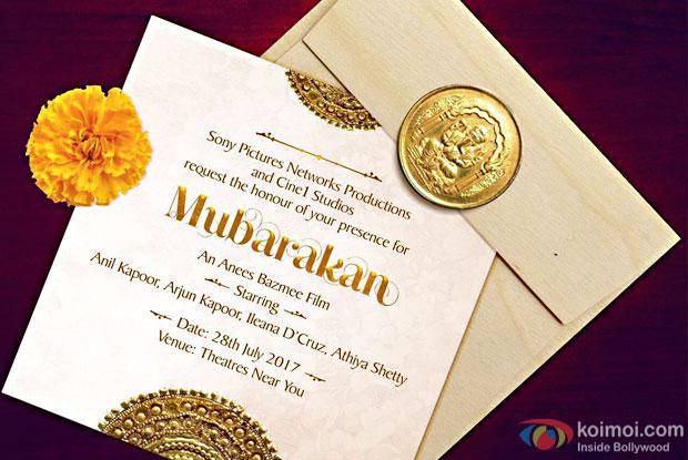 Mubarakan An Anees Bazmee Film Starring Anil Kapoor, Arjun Kapoor, Ileana D'Cruz, Athiya Shetty