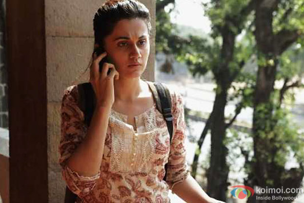 When people ask me who is the hero of the film, I reply 'Main': Taapsee Pannu