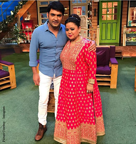 Bharti Singh Shuts Rumors Of Canceling Kapil Sharma Show Shoot With A Picture!