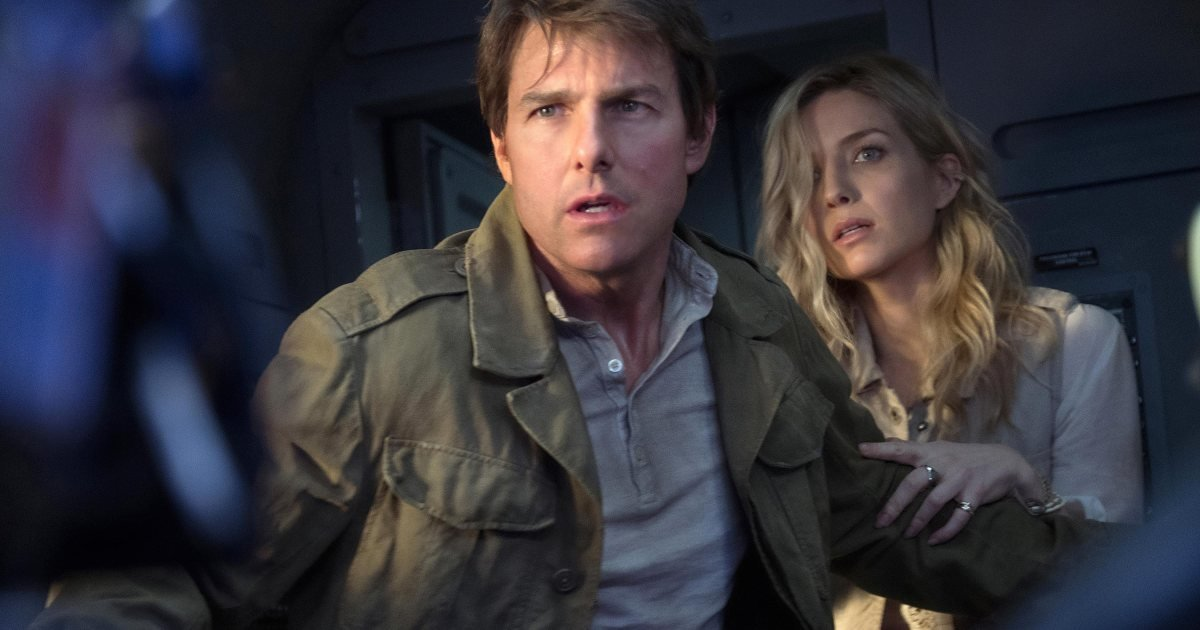 A still from The Mummy