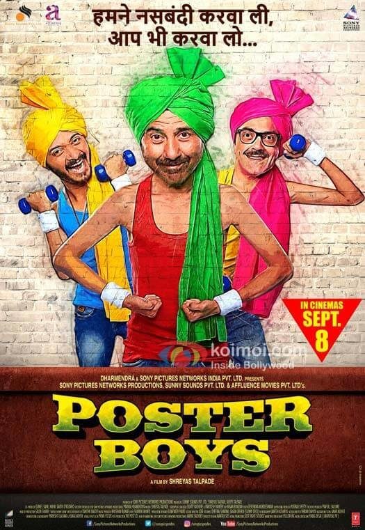 Check Out The First Poster Of Bobby Deol's Comeback Movie Poster Boys