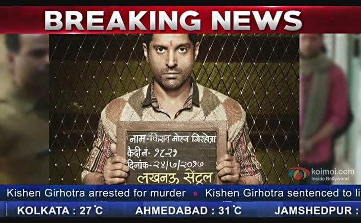 Lucknow Central Teasers: Kya Farhan Akhtar aka Kishen Nirdosh Hai?