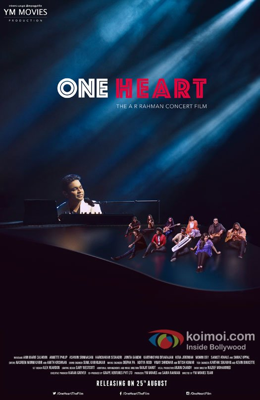 One Heart: The AR Rahman Concert Film Releases Worldwide On August 25