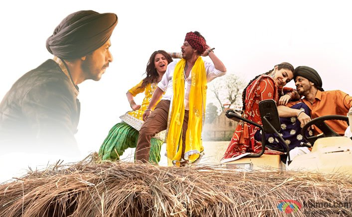 SRK & Anushka Groove In Desi Punjabi Style In The Butterfly Song From Jab Harry Met Sejal