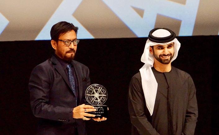 Irrfan Khan At Dubai International Film Festival
