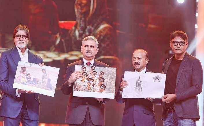 Amitabh Bachchan unveils the Mumbai Police calendar