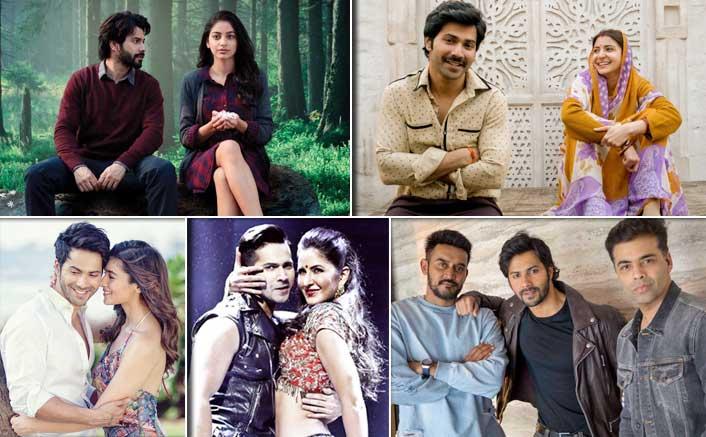 Varun Dhawan's versatile film line up till 2020