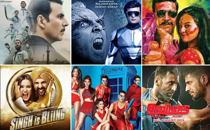 2.0: 20.25 Crores Vs Top 5 Opening Movies Of Akshay Kumar