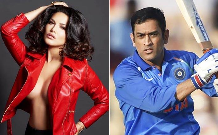 Dhoni is Sunny Leone's favourite cricketer