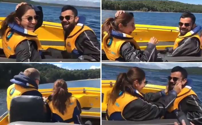 VIDEO: Anushka Sharma & Virat Kohli's Cute PDA Is Truly Unmissable!