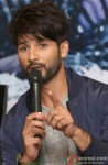 Shahid Kapoor during the Haider's press meet in Bangalore