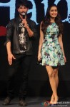 Shahid Kapoor and Shraddha Kapoor during the launch of Haider's Song Pic 3