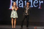 Shraddha Kapoor and Shahid Kapoor during the launch of Haider's Song