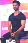 Shahid Kapoor during the promotion of Haider with Club Samusung