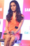 Shraddha Kapoor during the promotion of Haider with Club Samusung