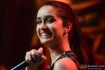 Shraddha Kapoor during the promotion of 'Haider' on the sets of 'India's Raw Star' Pic 3